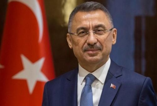 Sikapi Israel, Fuat Oktay, Wapres Turki Serukan Negara Muslim Bersatu dan Lakukan Langkah Aktif