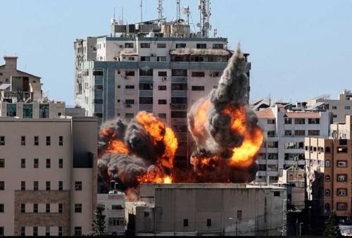 Gedung Al Jalaa Ikut Jadi Target Dihancurkan Israel, CEO AP Menduga Ada Upaya Membungkam Media?