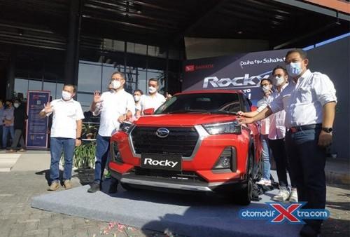 Resmi! PT Astra Daihatsu Motor Luncurkan Daihatsu Rocky di Surabaya, Dijual Rp 200 Jutaan, ini Fitur Unggulannya!