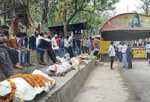 India Mengkhawatirkan, Korban Covid-19 Melonjak Drastis, Rumah Sakit Makin Kewalahan